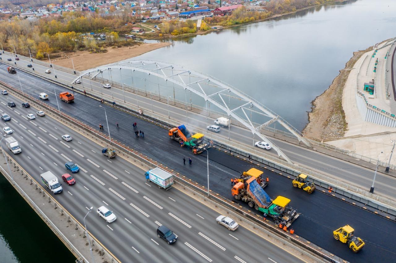 В Башкирии до конца года 2021 года отремонтируют 1260 км дорог