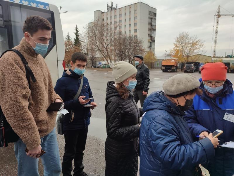 В Башкирии проводят рейды по соблюдению антиковидных ограничений в транспорте