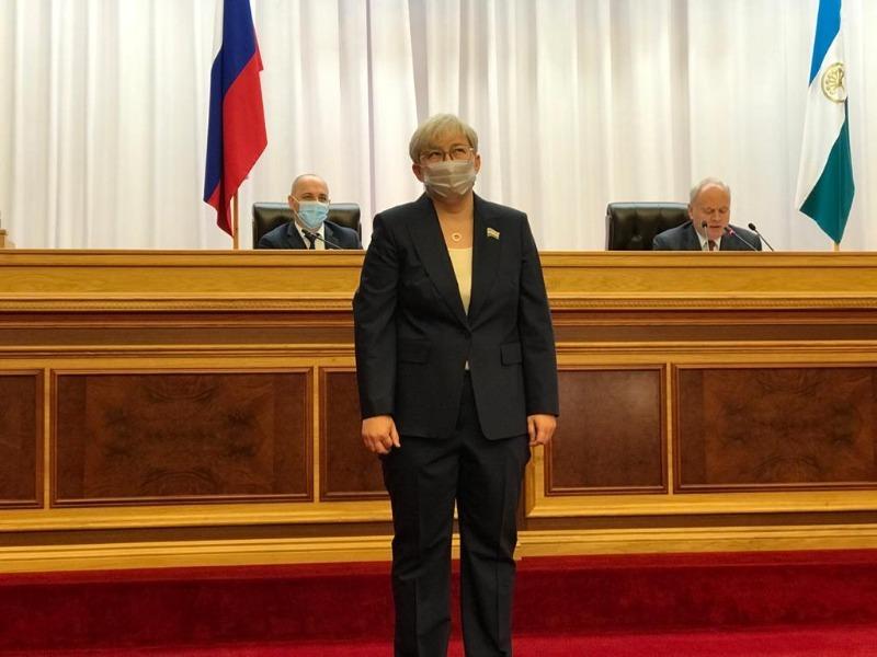 Заместителем Председателя Парламента Башкирии избрана Тамара Тансыккужина