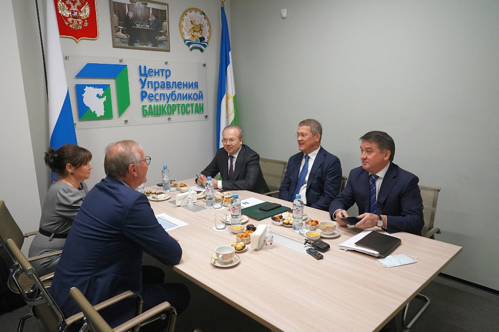 Радий Хабиров провел рабочую встречу с учредителем компании Lasselsberger